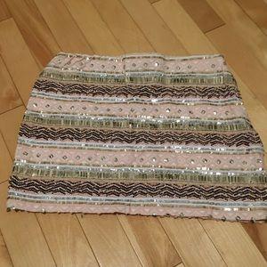 Dresses & Skirts - Sequins mini skirt!